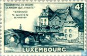 Timbres-poste - Luxembourg - Maison de Victor Hugo