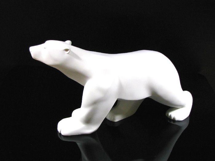 François Pompon  - Polar Bear 'Ours Blanc' - Mouseion Collection