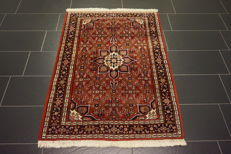 Old, high-quality, hand-knotted Persian carpet – Bidjar – made in Iran – plant colours – 110 x 155 cm – OLD rug
