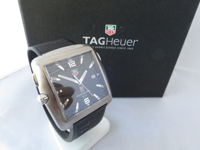 Tag Heuer Tiger Woods Limited Edition Professional Golf Men S Watch Catawiki