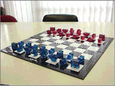 Keith Haring - Sculpturic Chess