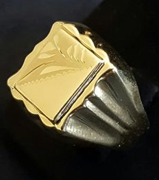 14 K Men's vintage ring, NO RESERVE