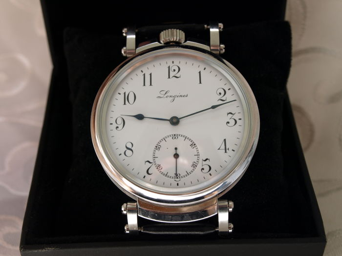 6 Longines marriage men's wristwatch 1900-1910