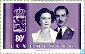 Timbres-poste - Luxembourg - Mariage princier