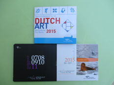 "Netherlands - Euro cases ""Dutch art"" 2015 - 2011 - 2015"
