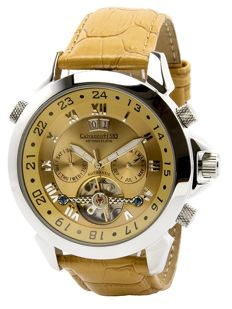 "Calvaneo 1583   — Astonia PLatin ""Whiskey Sunbrushed"" Automatic — men's — 2011-present"