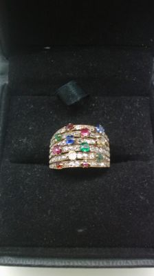 Antique style ring from the late 19th century