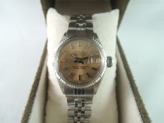 ROLEX OYSTER PERPETUAL DATEJUST 6517 - women's wrist watch - 1962s