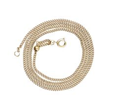 Yellow gold necklace 14k - 51.6 cm