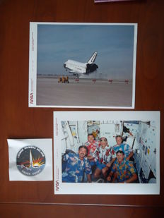 First flight after Challenger disaster