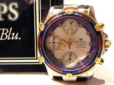 Large PRYNGEPS JAMAICA FLASH chronograph – 1990s – Men's – Perfect