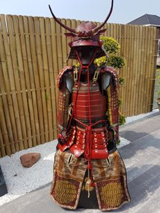 Original Japanese Samurai armour end Edo period