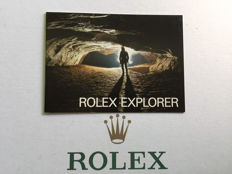 ROLEX EXPLORER BOOKLET