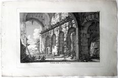 Johan Christian Jacob Friedrich (1746-1813) after an design by Piranesi - The Curia Hostilia - 18th century