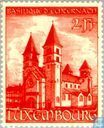 Timbres-poste - Luxembourg - Basilique saint Willibrord