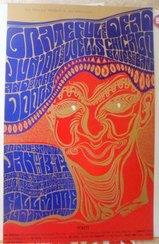The Doors / Grateful Dead Live at Fillmore 1967 San Francisco by Wes Wilson