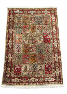 Rare and Beautiful Persian Tabriz c. 1970s 295x200cm SIGNED