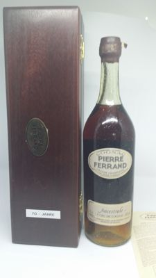 Very old cognac Pierre Ferrand Ancestrale - 70 years old