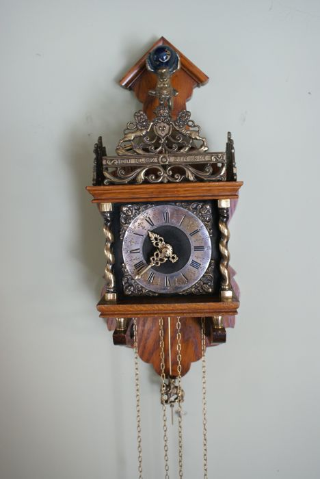 Zaandam clock – J.W.A. – 2nd half of the 20th century