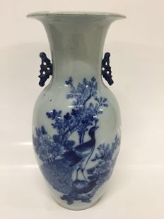 Painted vase - China - around 1920