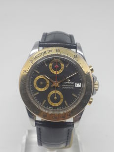 Lorenz — Automatic Chronograph Dual Time Lemania 5100 — Men — 1980-1989
