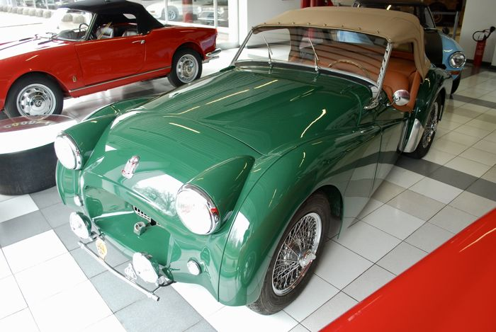 triumph tr2 long door 1954 catawiki