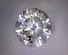 Diamond 0.83 ct Round Cut G SI3