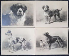 Otto Eerelman (1839-1926) - 20 lithographs of dog species, ca 1900