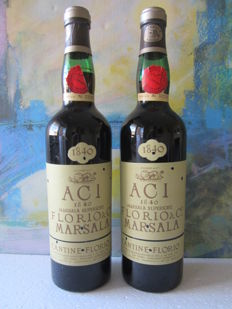 Marsala Superiore 1840 ACI, Florio & Co. – 2 bottles