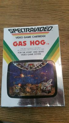 Atari 2600 - Gas Hog boxed - Rare