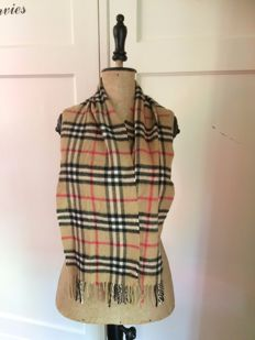Burberry - Cashmere Sjaal-scarf