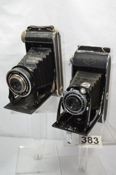 Beirax bellows camera and Agfa Billy record