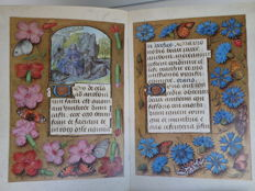 Facsimile; The Master of Mary of Burgundy, a Book of Hours for Engelbert of Nassau (15th century) - 1970