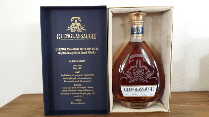 Glenglassaugh 40 Year Old - OB