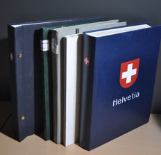 Switserland 1882/2010 – Batch in various stock books/albums, a circular booklet and on pages