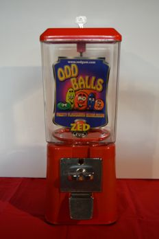 Nuts dispensing machine - 1970