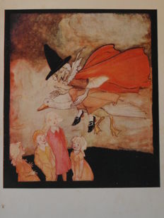 Arthur Rackham (illustrator) - Mother Goose, the old nursery rhymes - ca. 1915