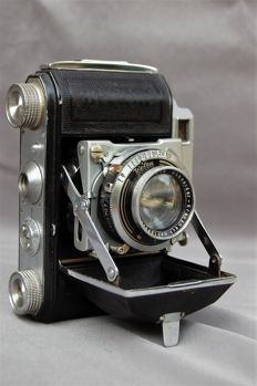Welta bellows camera format 35 mm, type name Weltina WWII 1940