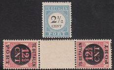 The Netherlands 1881/1924 – Selection postage due – NVPH P5BII and P68b