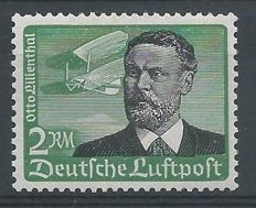 German Reich 1934 - Air mail Otto Lilienthal - Michel 538 y