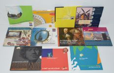 """Netherlands - Various sets with medal """"Special highlights of cities"""" (11 different ones)."""