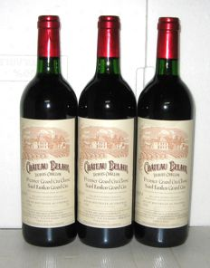 1994 Château Belair, Grand Cru Classé de Saint-Emilion – Lot of 3 bottles