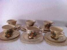 Antique English tea service, H&K Tunstall