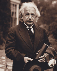 Dennis Michael Brearley collection - Prof. Albert Einstein - Harvard - 1935