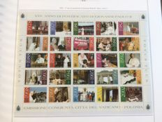 Vatican 1935-2007 MNH collection in 3 Marini albums