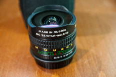 MC Zenitar 16mm F2.8 M42 + canon EF adapter