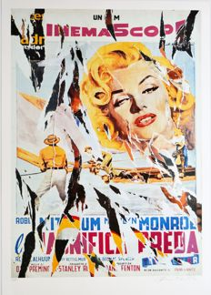 Mimmo Rotella - La Magnifica preda (Beautiful Prey)