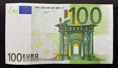 Europen Union - Finland - 100 Euro 2002 - Duisenberg - without HOLOGRAM - White Box - ERROR note