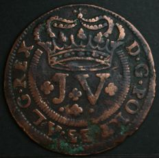 Portugal – X Reis – D. João V – 1721 – 'Thickened Spurs' – No reserve price – Lisbon – Rare and valuable