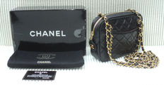 Chanel - Diamond Quilted Mini Camera Hand Shoulder Bag